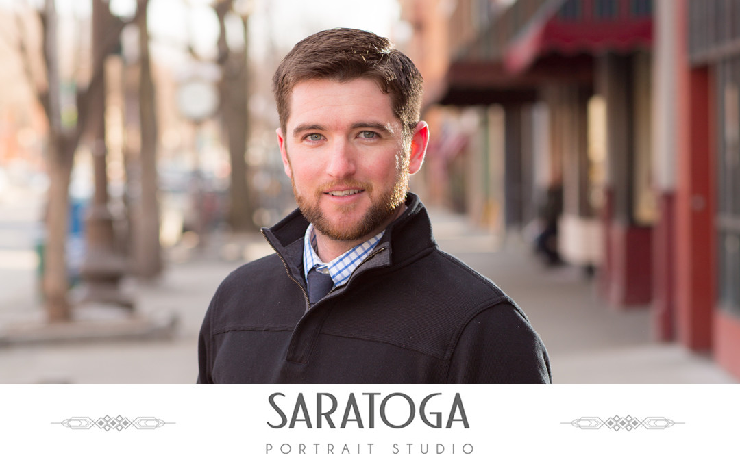 Brandon's Saratoga Portrait Session