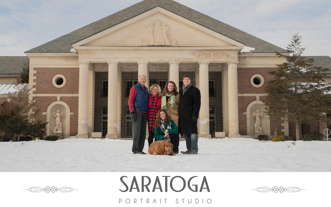 Alexa & Sean's Winter Family Photo's