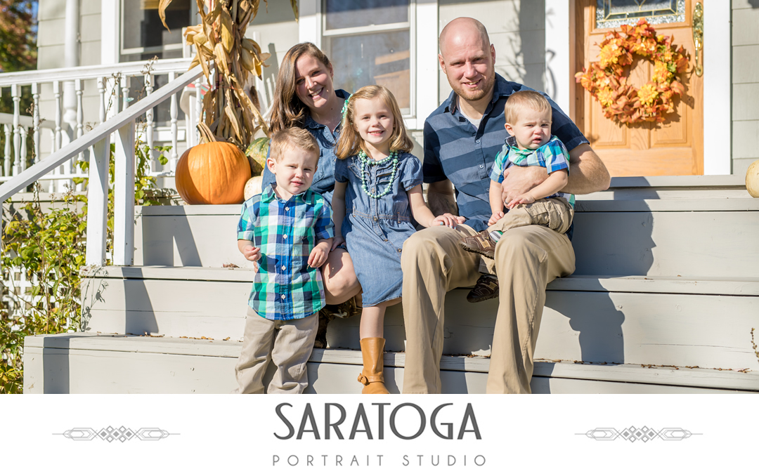 Ben & Samantha's Fall Family Photos