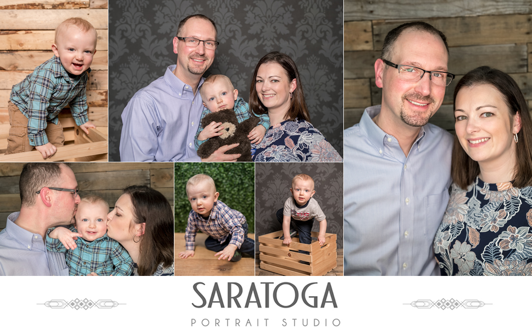 Kate, Drew and Isaiah's Family Portrait Session