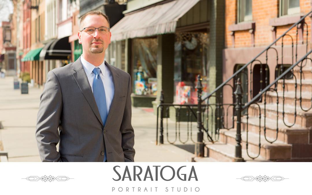Andrew's Saratoga Portrait Session