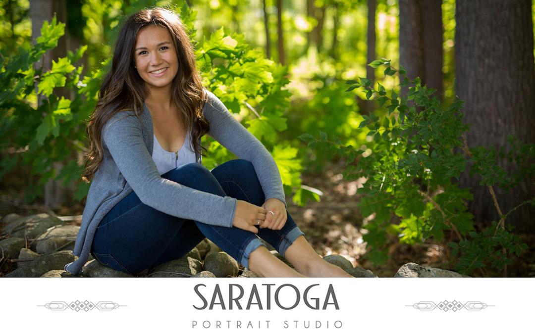 Abbie's Saratoga Senior Portrait Session