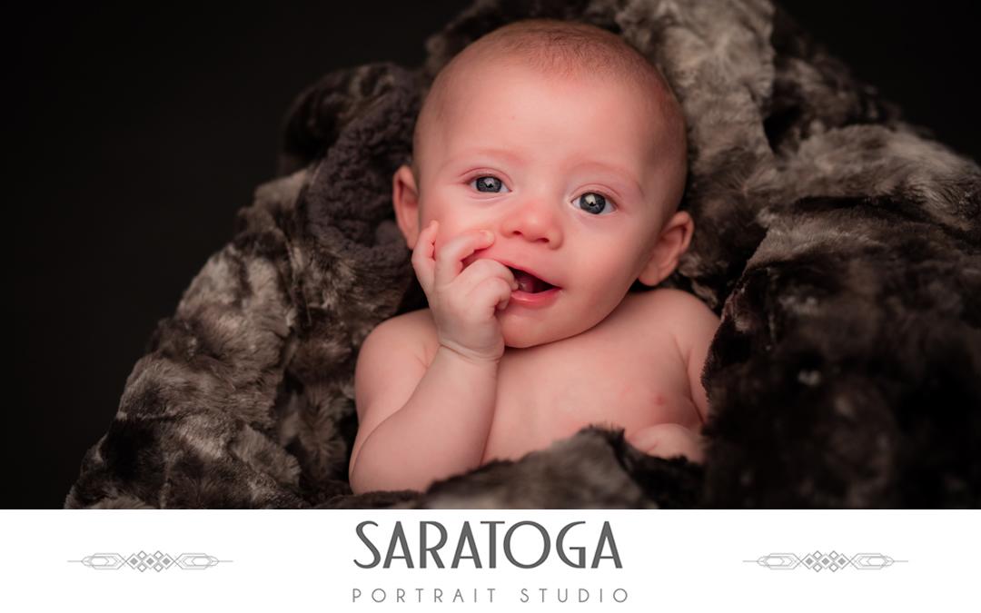 Callahan's Infant Portrait Session