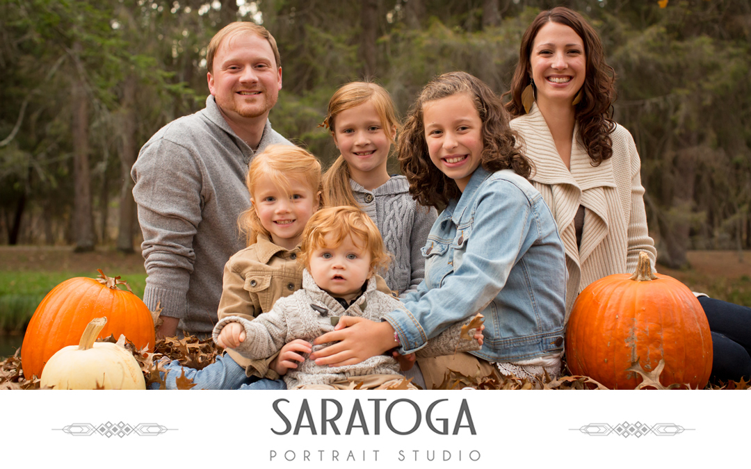 Jesse and Erica's Fall Family Photo Session