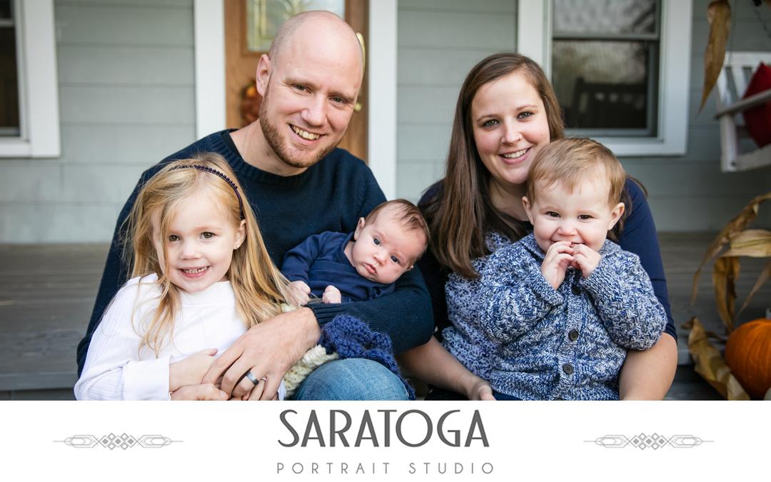 Ben & Samantha's Fall Family Photos