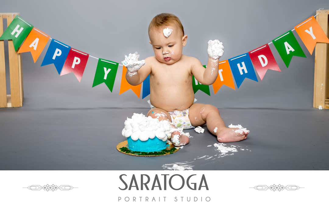 Ryan's 1st Birthday Cake Smash