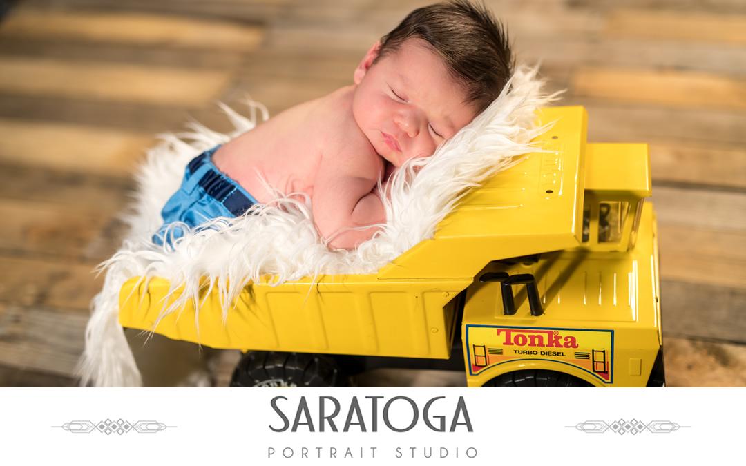 Matteo's Newborn Family Photo Shoot