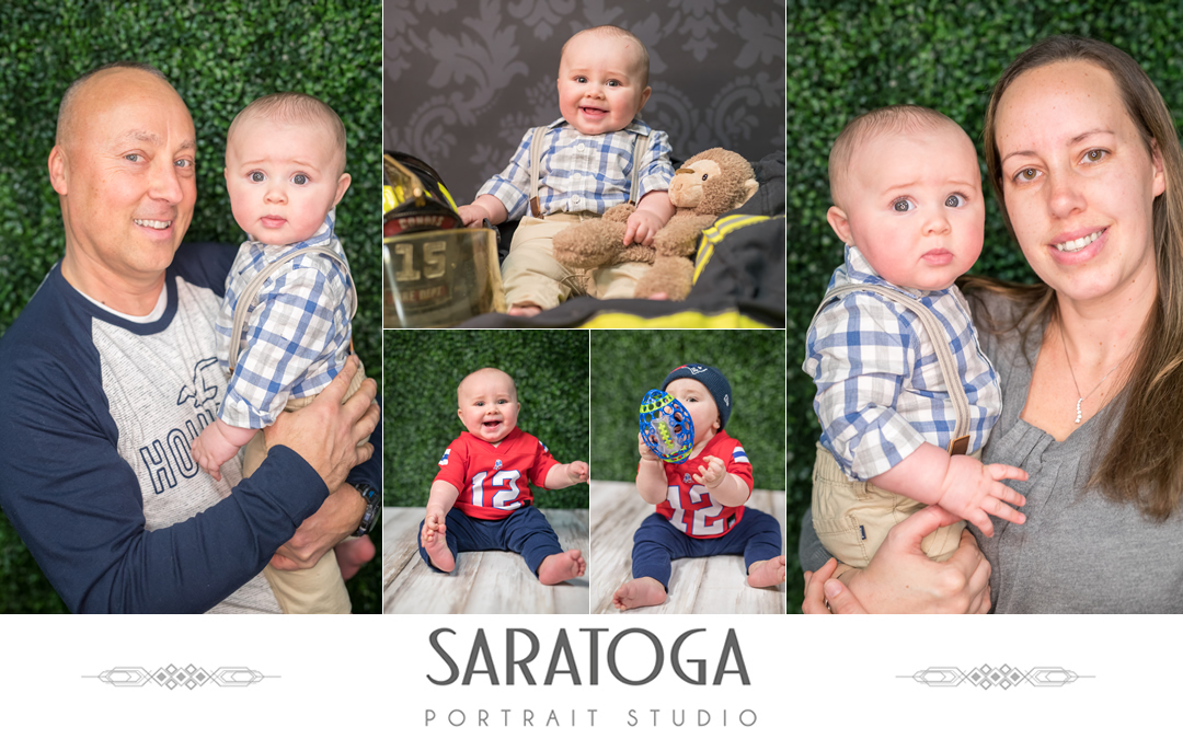 Heather and Bob's In Studio Family Shoot
