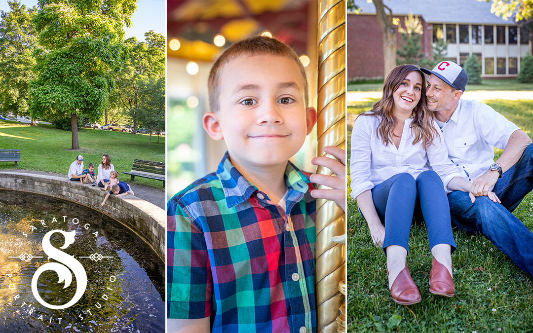 Sarah & Mike's Congress Park Family Portrait Session