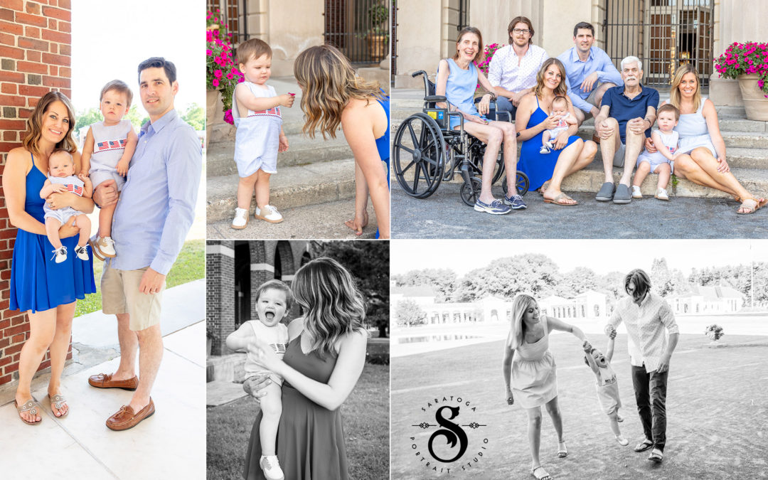 Meaghan & Dave's Spa State Park Family Session
